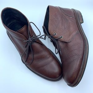 J&M JOHNSON & MURPHY ANKLE BOOTS Leather OXFORD